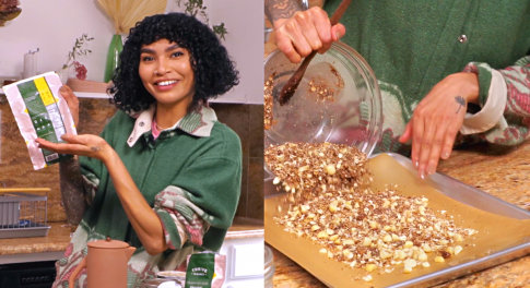 Sophia Roe's Recipe for Coconut, Macadamia & Quinoa Granola