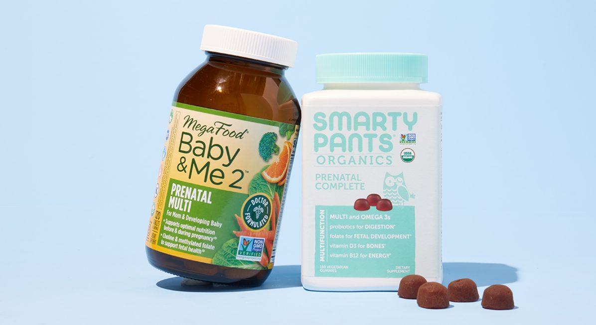 Natural, organic prenatal vitamins