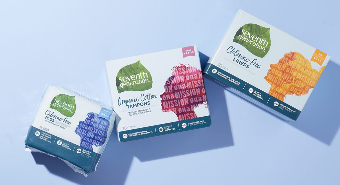 Seventh Generation period care products