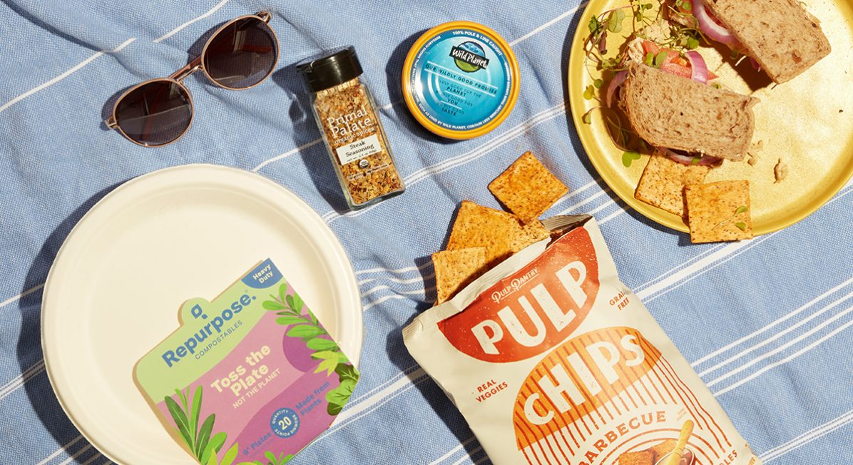 eco friendly picnic