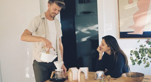 A Morning at Home with Canyon Coffee's Newest Ethiopian Coffee