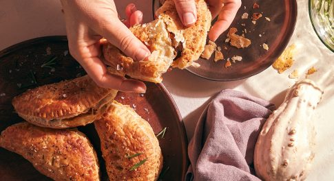 Step Into the Spirit Realm with a Halloween Recipe for Rosemary Apple Picnic Pies